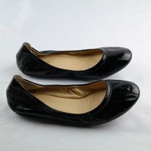 Cole Haan Ballet Flats Black Patent Leather Sz 5.5